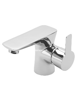 Balena Mono Basin Mixer Tap With Click Clack Waste