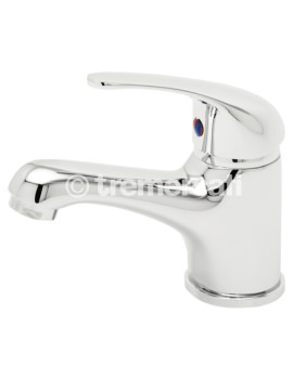 Tasso Mini Mono Basin Mixer Tap With Click Clack Waste