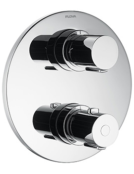 Flova Allore Concealed Thermostatic Shower Valve With 2 Way Diverter