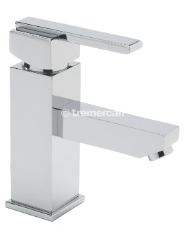 Vespa Mono Basin Mixer Tap With Click Clack Waste