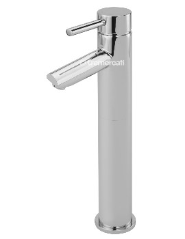Poppy Extended Mono Basin Mixer Tap With Click Clack Waste