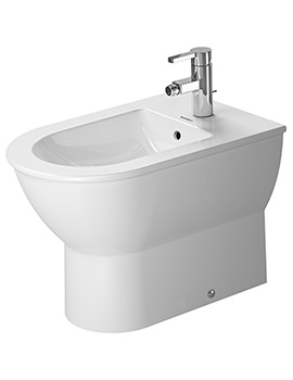 Darling New 370 x 570mm Floor Standing Back To Wall Bidet