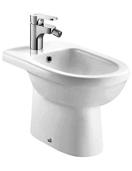 Ivo Floor Standing 1 Tap Hole Bidet - 600mm Projection