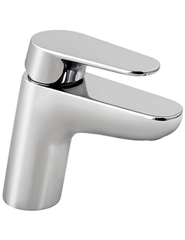 Ascent Chrome Mono Basin Mixer Tap Without Waste