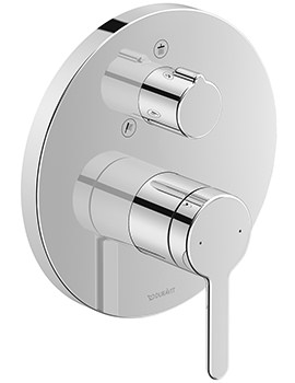 C.1 Round Concealed Manual Shower Mixer Valve With Diverter