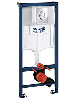 Grohe Rapid SL Skate 3 In 1 Frame Set For WC - 38721001