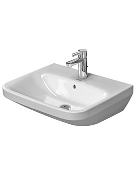 DuraStyle 550 x 440mm 1 Taphole Washbasin With Overflow