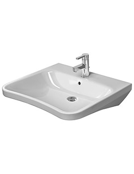 DuraStyle 650 x 570mm 1 Taphole Washbasin With Overflow