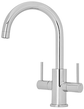 Two Handle Kitchen Sink Mixer Tap