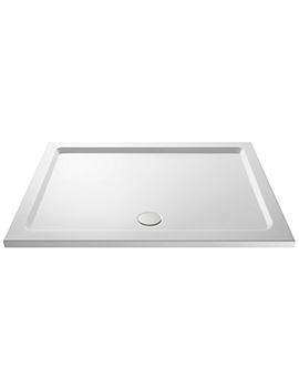 Pearlstone 1300 x 800mm Rectangular Shower Tray