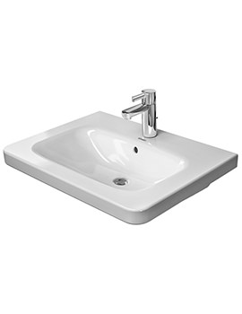 DuraStyle 650 x 480mm 1 TH Furniture Washbasin With Overflow