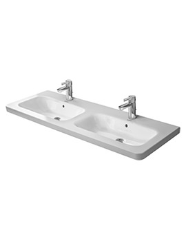 DuraStyle 1300 x 480mm Double Furniture Washbasin
