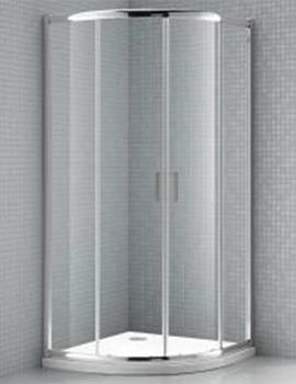 S6 900 x 900mm Double Door Quadrant Shower Enclosure