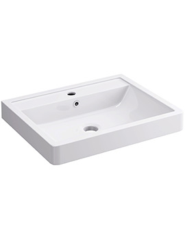 Flite 600 x 480mm 1 Tap Hole Basin