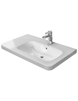 DuraStyle 800 x 480mm Asymmetric Right Bowl Furniture Basin