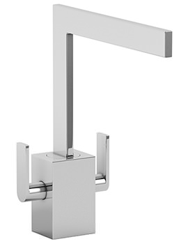 Edge Chrome Monobloc Kitchen Mixer Tap - AT1158