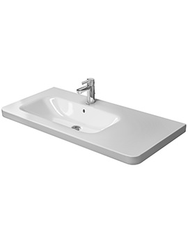 DuraStyle 1000 x 480mm Asymmetric Left Bowl Furniture Basin