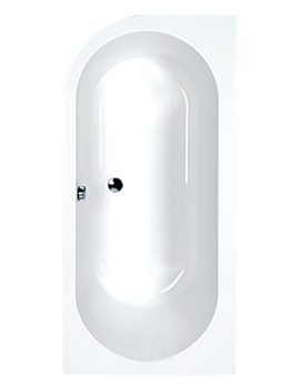 Status 5mm Acrylic Double Ended Bath 1700 x 725mm - Right Hand