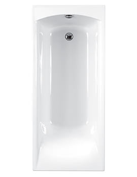 Delta 5mm Acrylic Single Ended Bath 1700 x 700mm