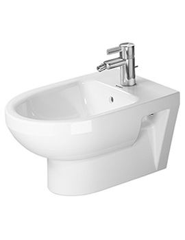 DuraStyle 370 x 540mm Wall Mounted Basic Bidet