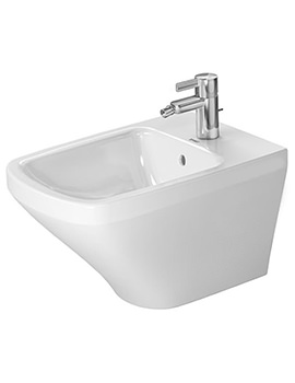 DuraStyle 370 x 540mm 1 Tap Hole Wall Mounted Bidet