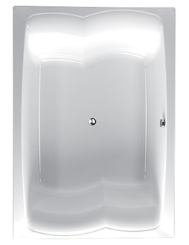 Celsius Duo Double Ended Carronite Bath 2000 x 1400mm