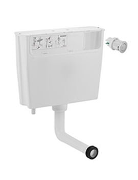 Geberit Mechanical Operated Dual Flush Cistern For Low Height Furniture - ONLY 1 IN STOCK