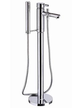 Mayfair Series F Floorstanding Bath Shower Mixer Tap With Handset