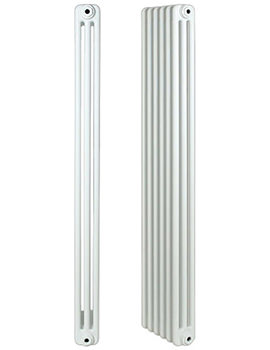 Roma Steel 3 Column Radiator 39 Section 1800 x 300mm