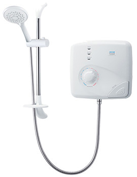 T150Z Pumped Thermostatic Electric Shower 9.5kw