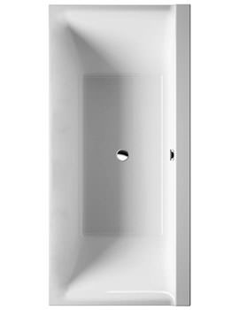 P3 Comforts 1900x900mm Bath With 2 Backrest Slope And Frame - 700389