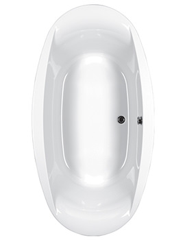 Celsius Oval Carronite Inset Or Semi-inset Bath 1900 x 1000mm