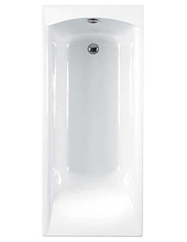 Sigma 5mm Acrylic Single Ended Bath 1700 x 800mm