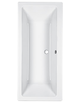 Quantum Double Ended 5mm Acrylic Bath 1700 x 700mm