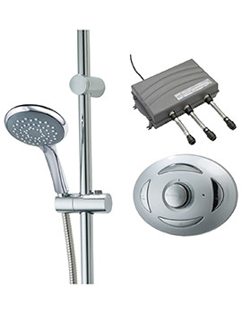 Satellites High Pressure Digital Mixer Shower With Sirona And Metis Kit