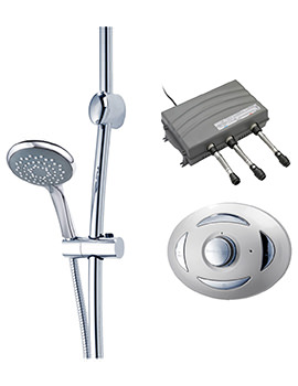 Satellites High Pressure Digital Mixer Shower With Sirona And Carlova Kit