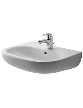 Duravit D Code Washbasin With 1 Tap Hole And Overflow