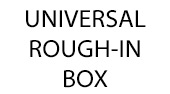 Rapido SmartBox Universal Rough-In Box