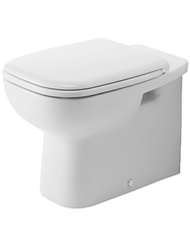 Duravit D-Code 560mm Floor Standing Back To Wall Toilet