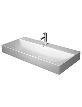 Duravit DuraSquare 1000mm Washbasin Without Tap Hole