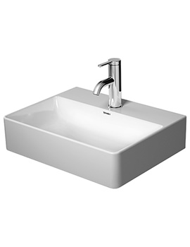 Duravit DuraSquare 450mm Handrinse Ground Basin Without Tap Hole