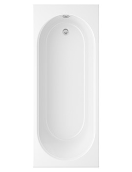 Trojan Cascade White Standard Bath 1700 x 750mm 0TH - EX Display