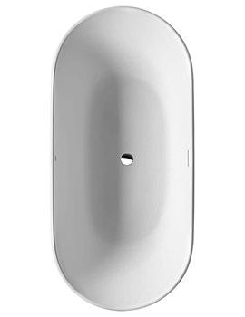 Luv 1800 x 850mm Freestanding Bathtub