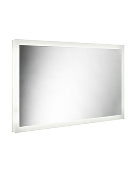 500mm High Ultra Slim Depth LED Mirror
