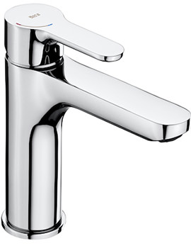 L20 Medium Height Basin Mixer Tap With Smooth Body