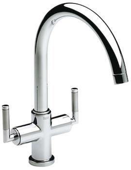 Roca Loft Elite Kitchen Sink Mixer Tap With High Swivel Spout