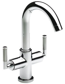 Loft Elite Basin Mixer Tap With Swivel Spout And Pop-Up Waste