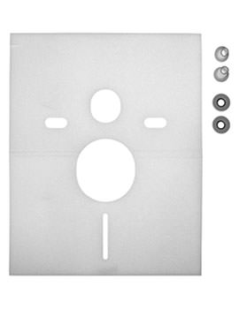 Duravit Noise Reduction Gasket For Wall Mounted Toilet - EX-Display