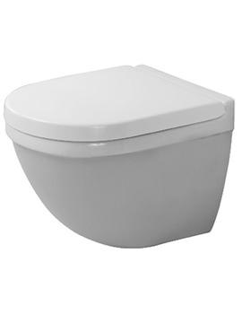 Duravit Starck 3 Wall Hung 360mm Toilet With Durafix - EX DISPLAY