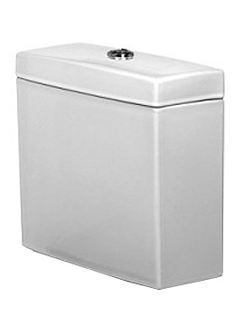 Duravit 2nd Floor WC Cistern 380mm - EX-DISPLAY - ONLY 1 IN STOCK